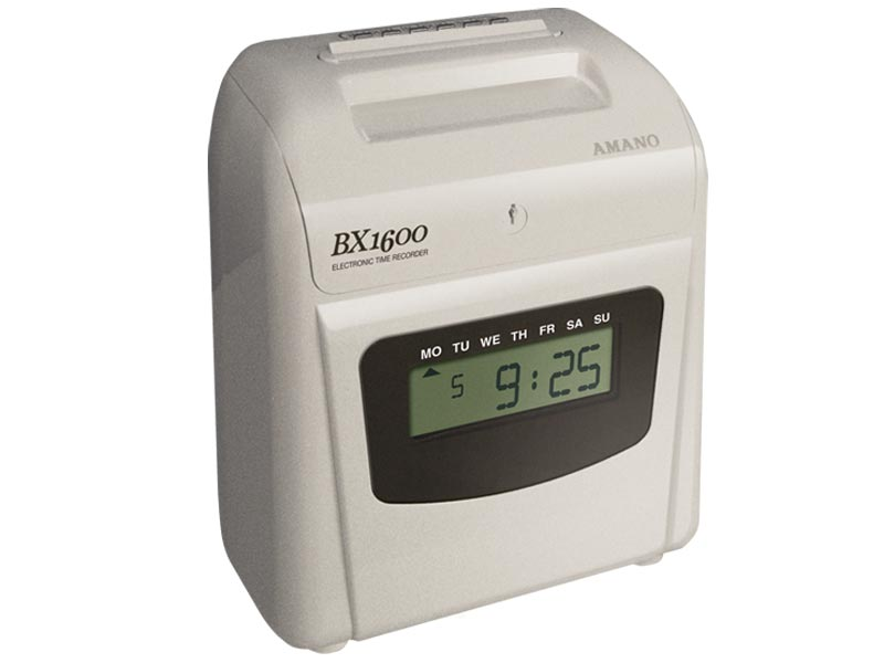 Amano BX-1600 Electronic Time Clock