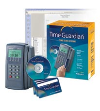 Amano Time Guardian Time Clock System (Ethernet)