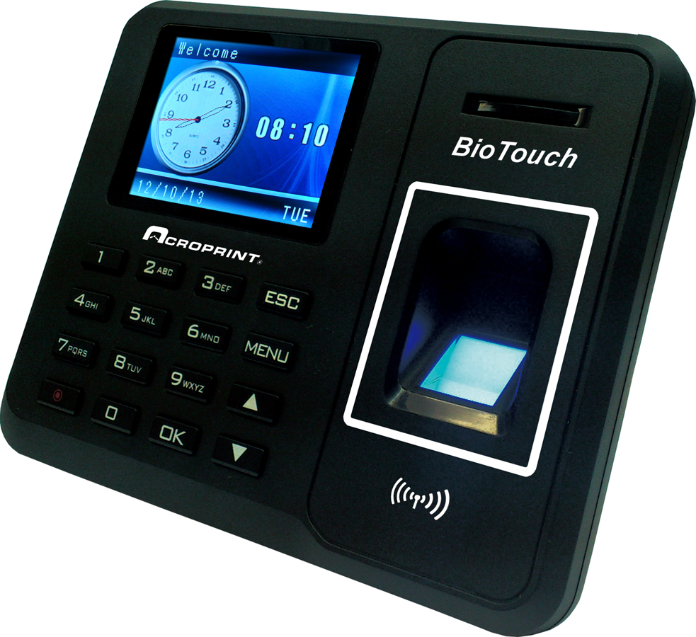 Acroprint BioTouch Time Clock