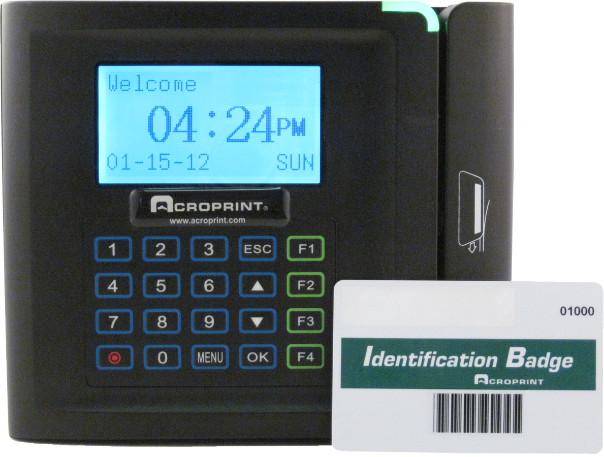 Acroprint timeQplus V4 Barcode-TERMINAL ONLY