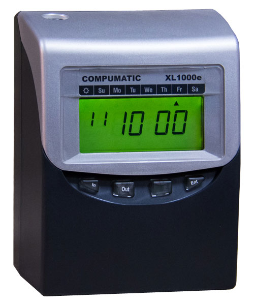 Compumatic XL1000e Totalizing  TimeClock