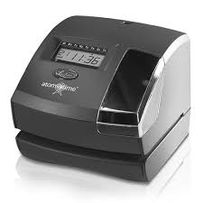 Lathem 1600E Atomic Electronic Time Recorder & Document Stamp