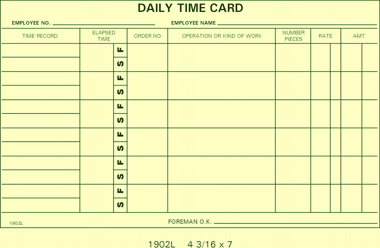 1902L Job Cards