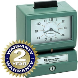 Acroprint 125NR4 Heavy Duty Time Clock
