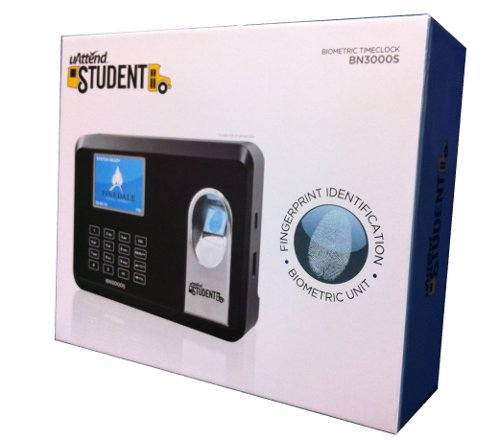 uAttend Student BN3000S Biometric Time Clock