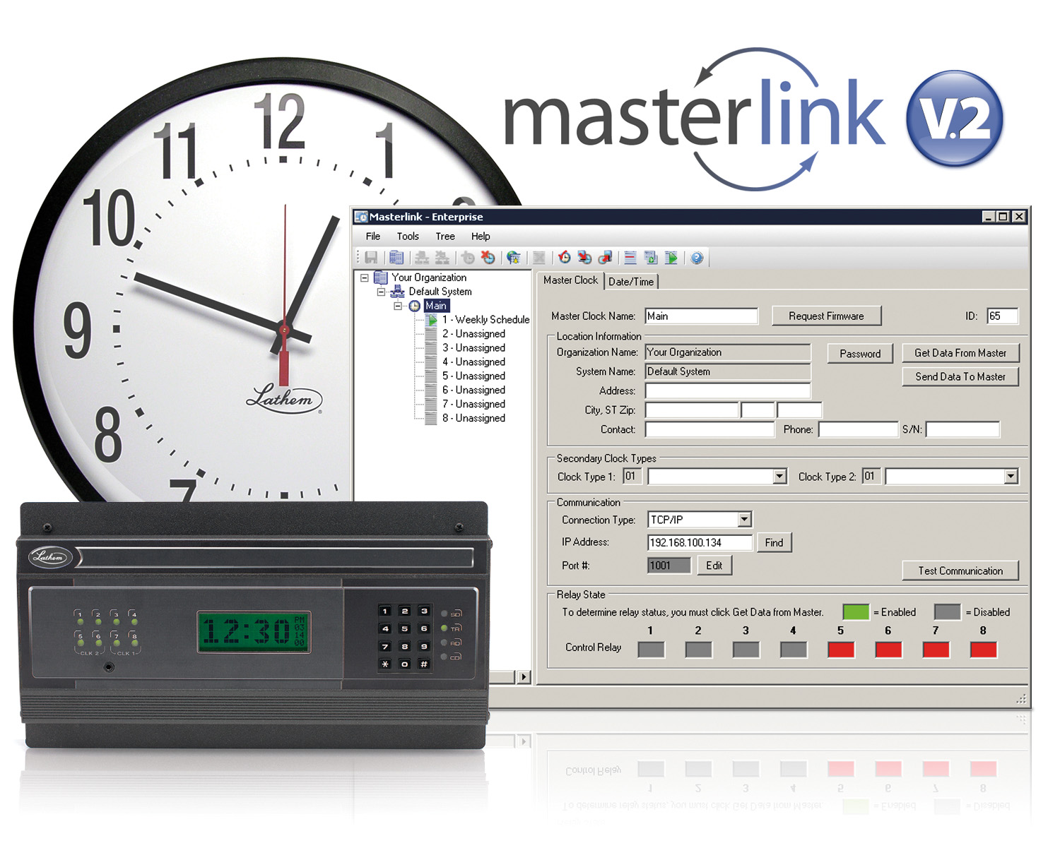 Lathem Masterlink V2.2 Enterprise Software
