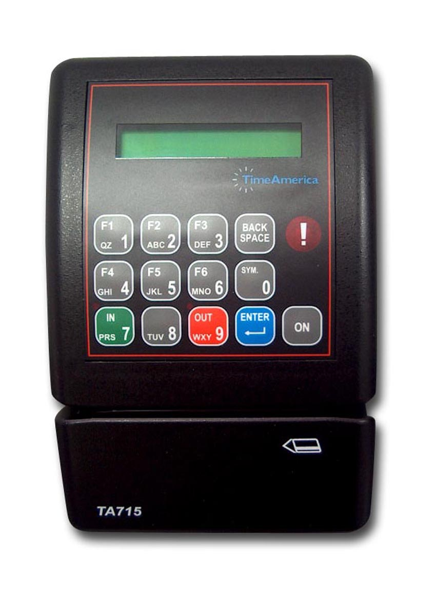 Time America TA715 Data Terminal (No Software)