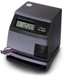 Amano TS-3000i® Automatic TimeSync Web Clock (POE)