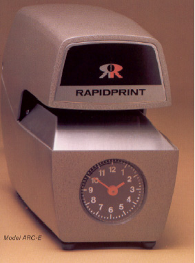 RapidPrint ARC-E Time and Date Stamp (Analog)