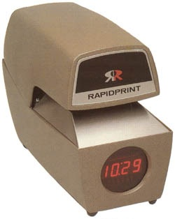 RapidPrint ARL-E Time and Date Stamp (Digital Clock)