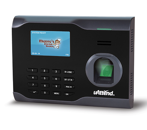uAttend BN6500 Fingerprint Web Based WIFI Time Clock System