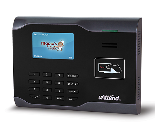 uAttend CB6500 PIN/Proximity WIFI Time Clock