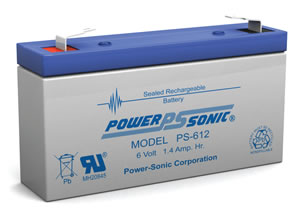 Lathem Sonachron DWA-S Replacement Battery