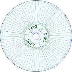 Acroprint C-72 Guard Clock Recording Disks