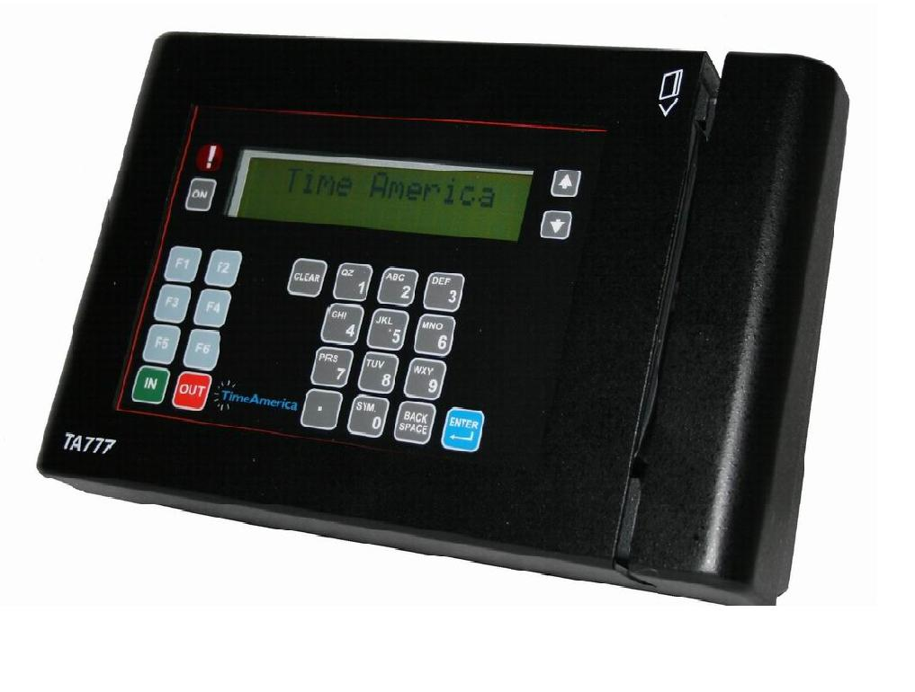 Time America TA777 Data Terminal (No Software)